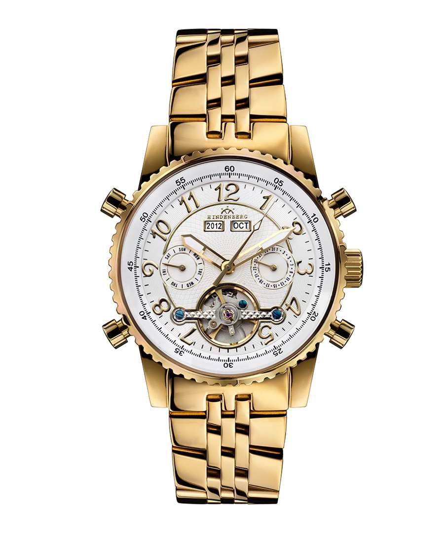 Air Professional gold-tone watch Sale - hindenberg