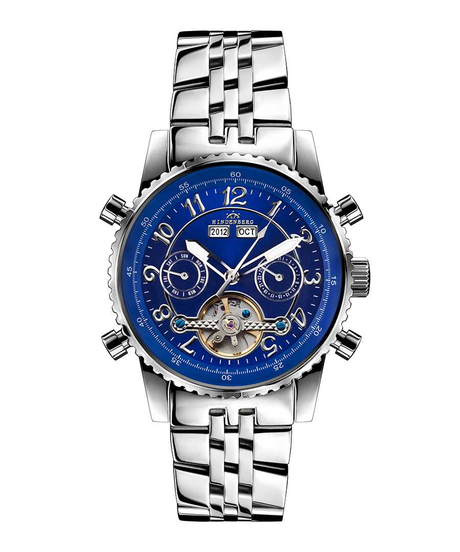 Air Professional blue dial watch Sale - hindenberg