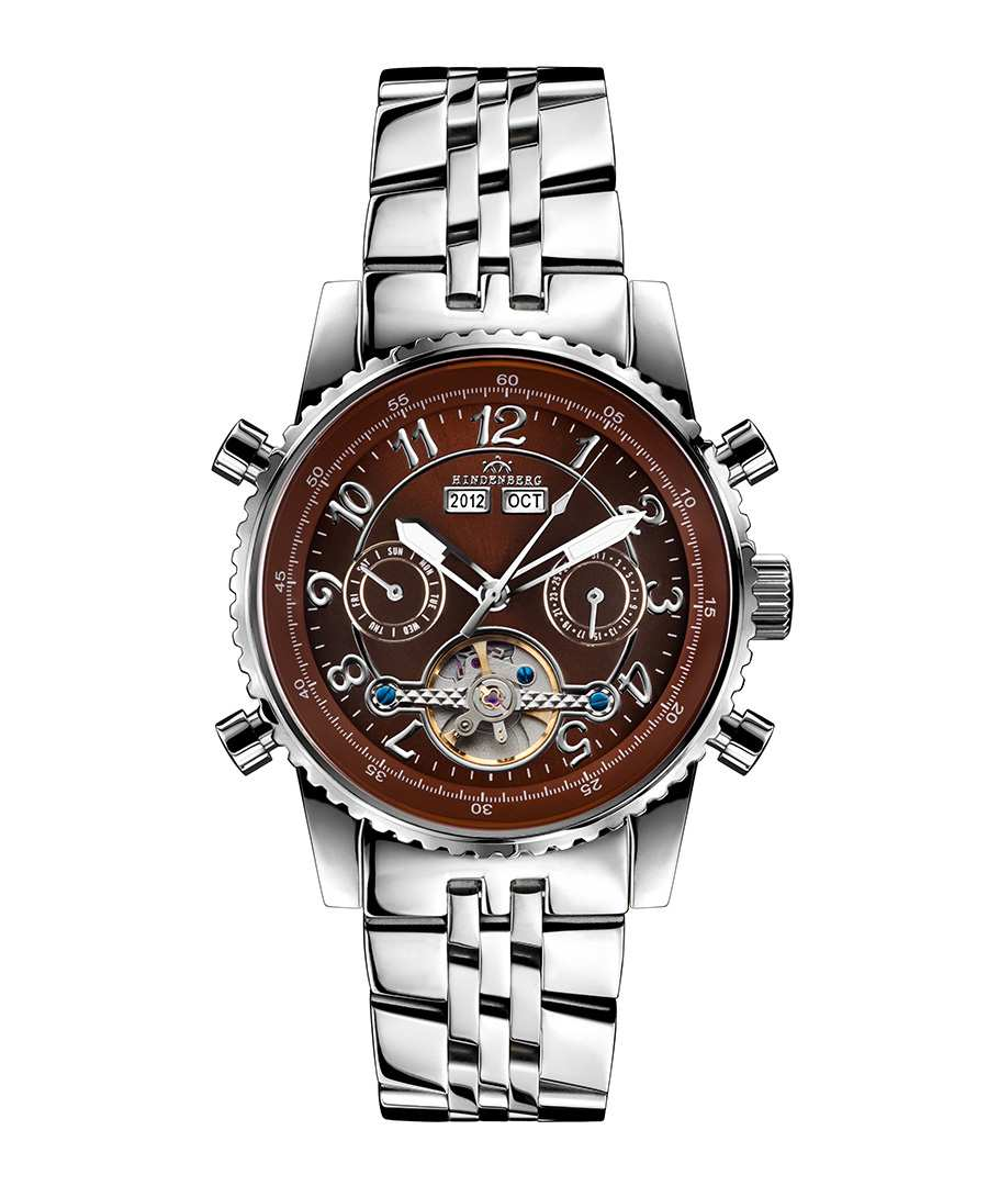 Air Professional brown dial watch Sale - hindenberg