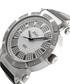 562 Silver-tone & black diamond watch Sale - jbw Sale