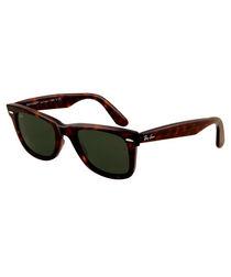 Wayfarer tortoiseshell sunglasses