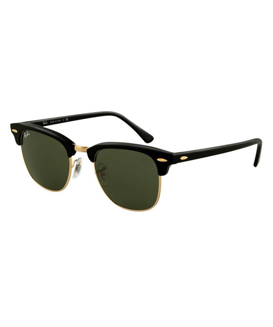 Clubmaster black & gold sunglasses Sale - RAY-BAN