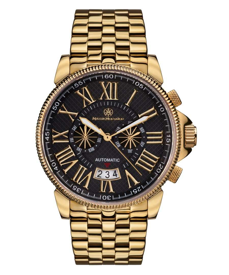 Classique Moderne black dial watch Sale - mathis montabon