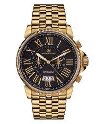 Classique Moderne black dial watch