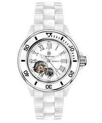 The Beautiful white diamond watch
