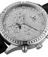 Black & silver-tone mechanical watch Sale - joshua & sons Sale