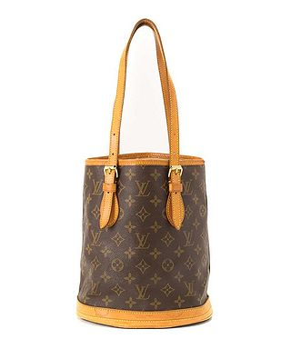 9821f679f898 Bucket leather tote bag in brown Sale - Louis Vuitton Sale