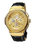 Saxon diamond accented watch