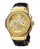 Saxon diamond accented watch
