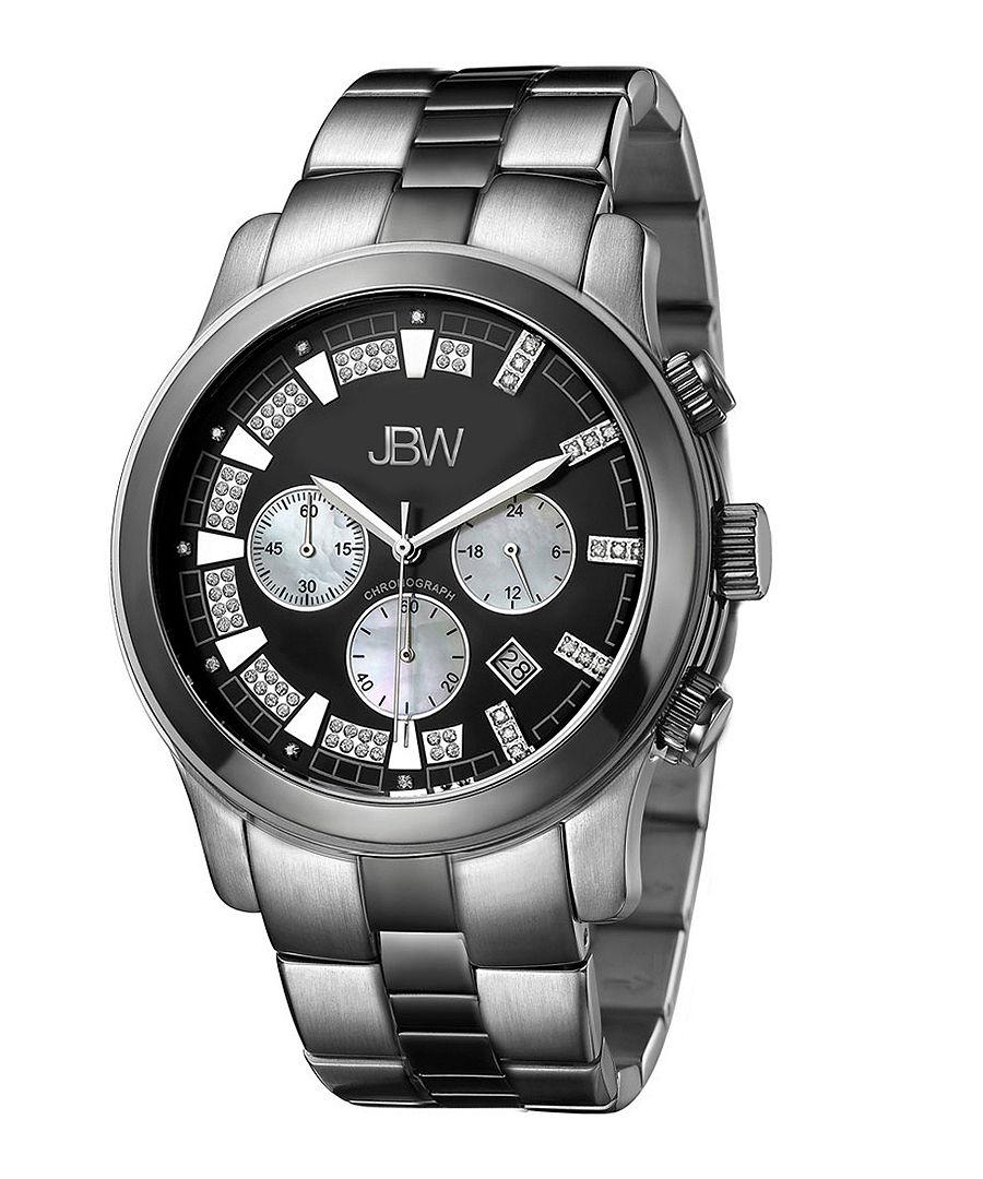 Delano black bracelet diamond watch Sale - jbw