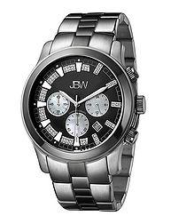Delano black bracelet diamond watch