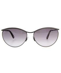Gunmetal frame sunglasses