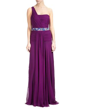 Byzantium 100 silk evening dress