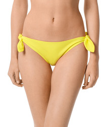 Essential tie yellow bottoms