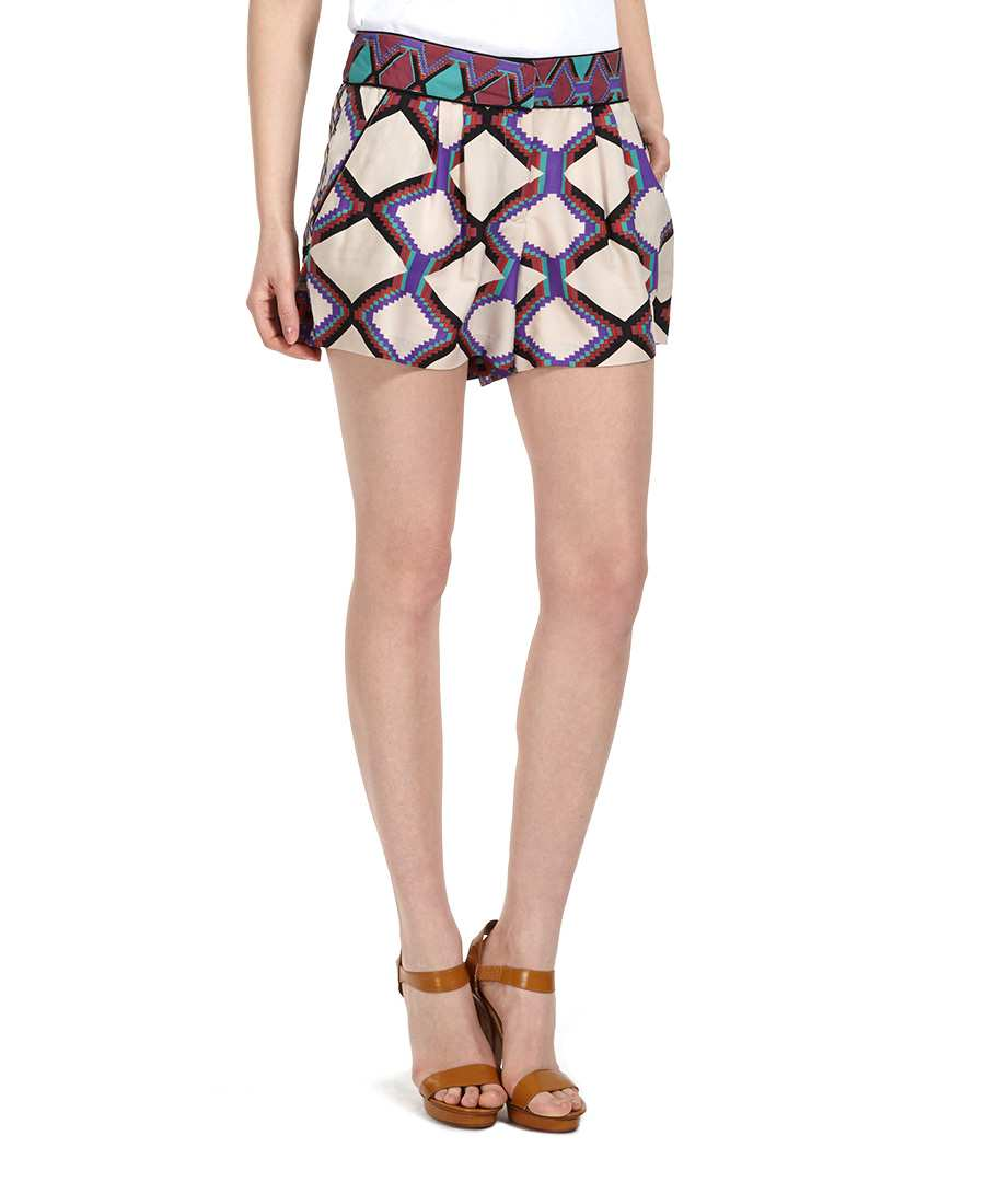 Channing Aztec diamond shorts Sale - W118 by Walter Baker