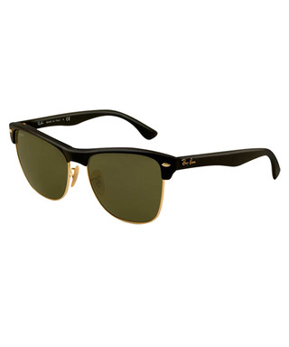 9cf9579e94f Oversized Clubmaster black sunglasses Sale - Ray-Ban Sale