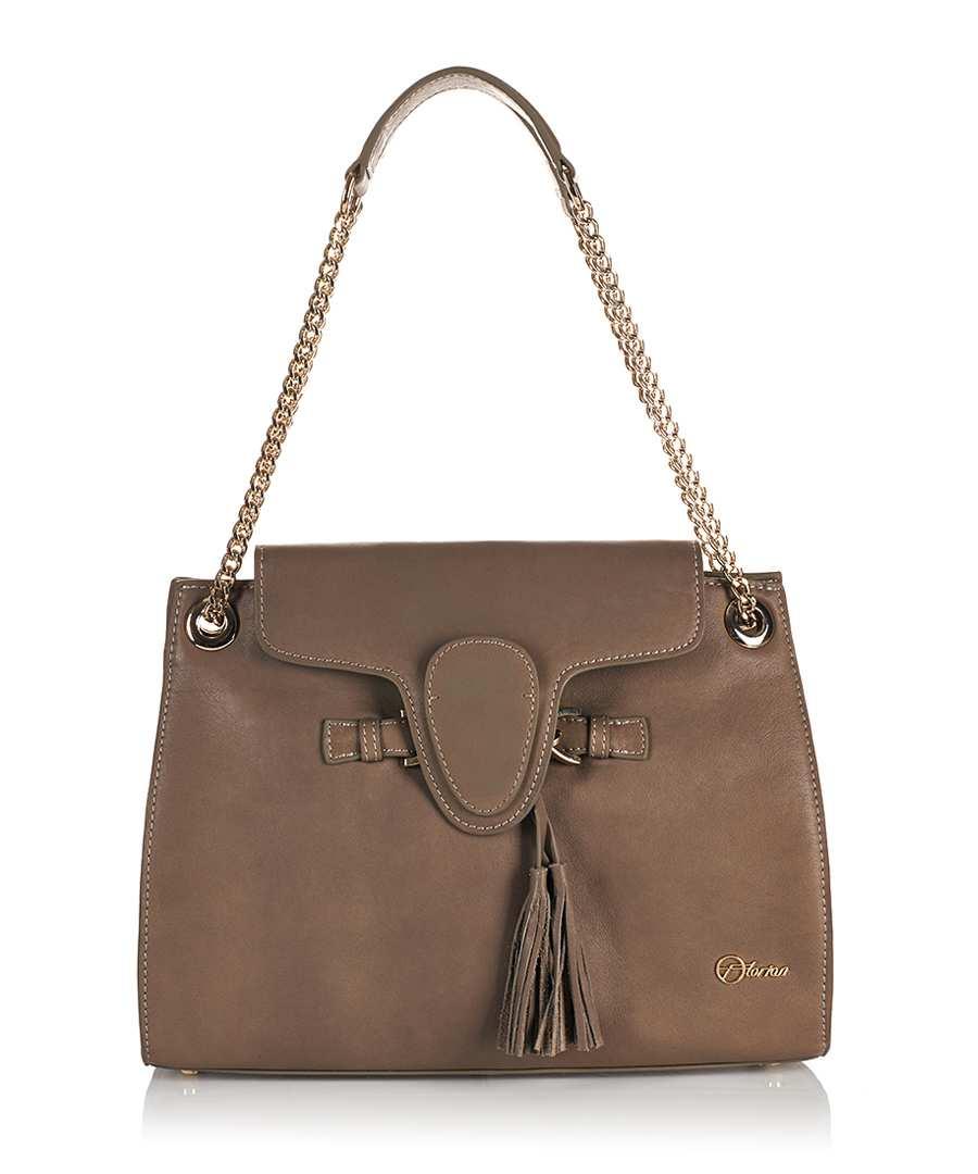 18613b83c0 Duchess grey leather shoulder bag Sale - Florian London ...