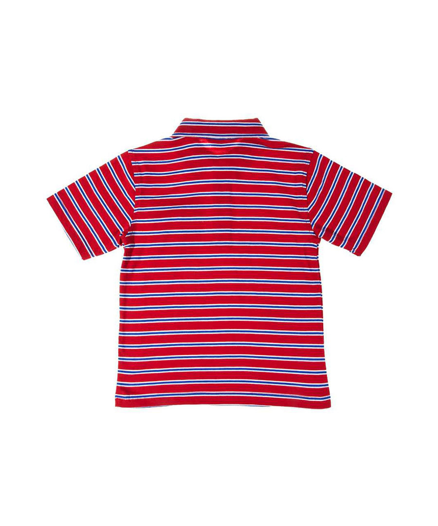 Discount red white striped red polo shirt secretsales for Red white striped polo shirt