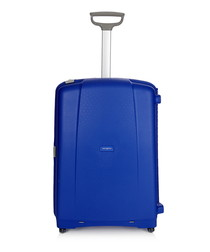 Aeris vivid blue spinner suitcase 75cm
