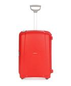 Aeris red spinner suitcase 68cm