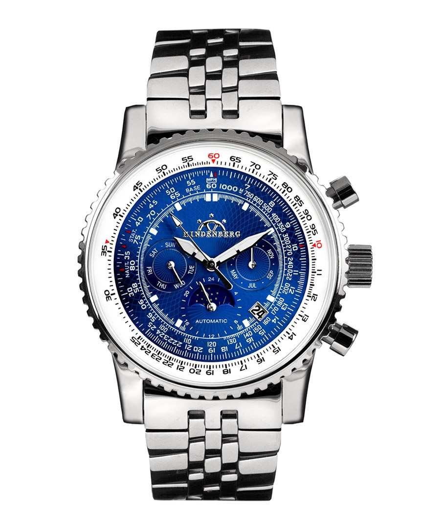 Air Fighter blue dial watch Sale - hindenberg