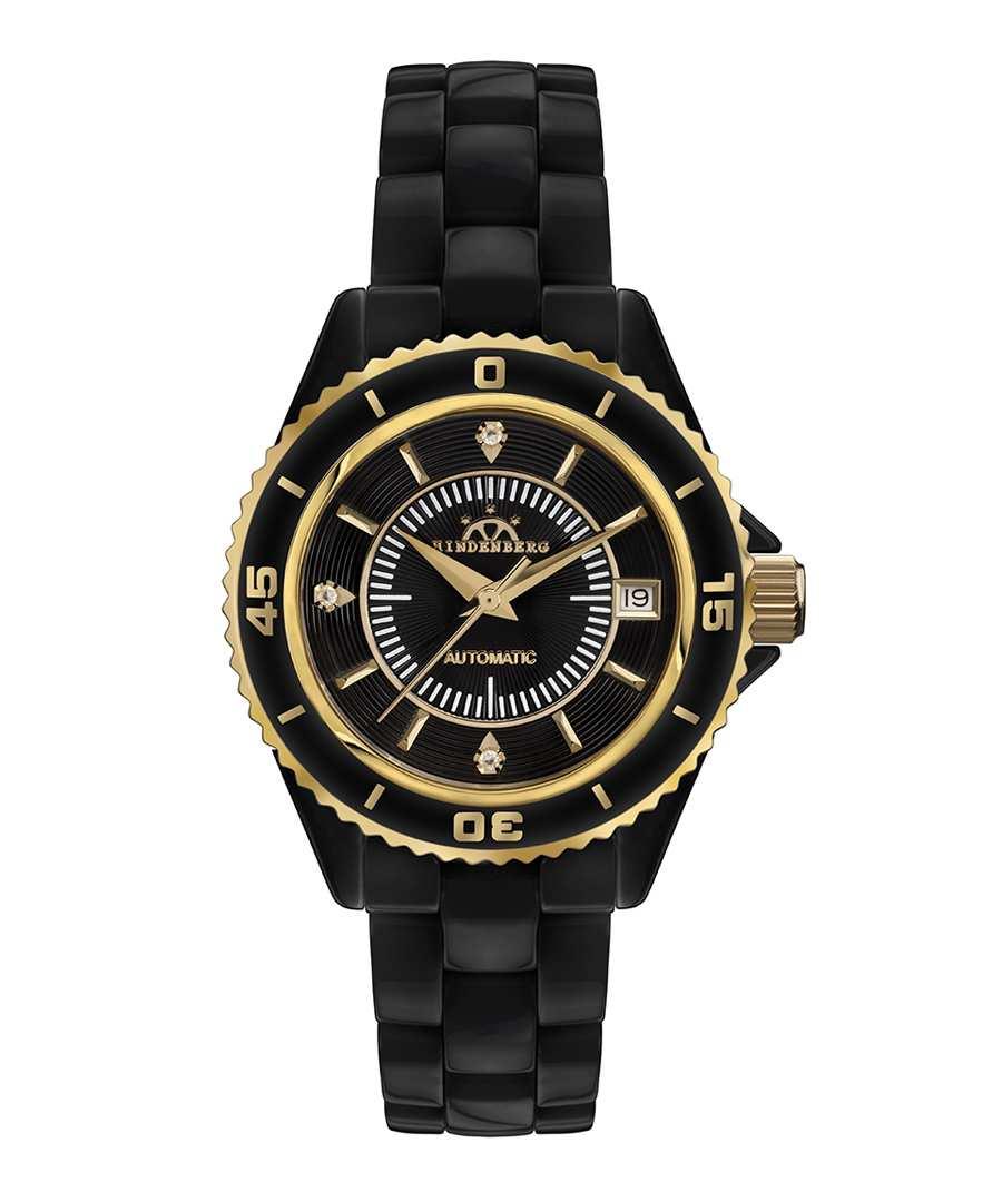 Galaxy X-17 black diamond dial watch Sale - hindenberg