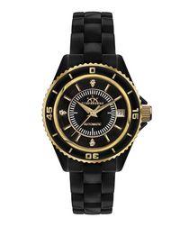 Galaxy X-17 black diamond dial watch