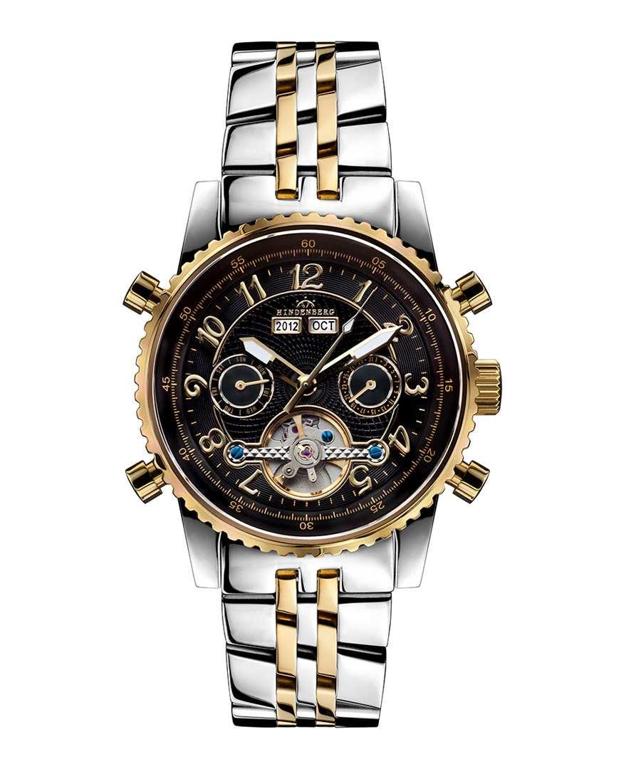 Air Pro black dial tonal watch Sale - hindenberg