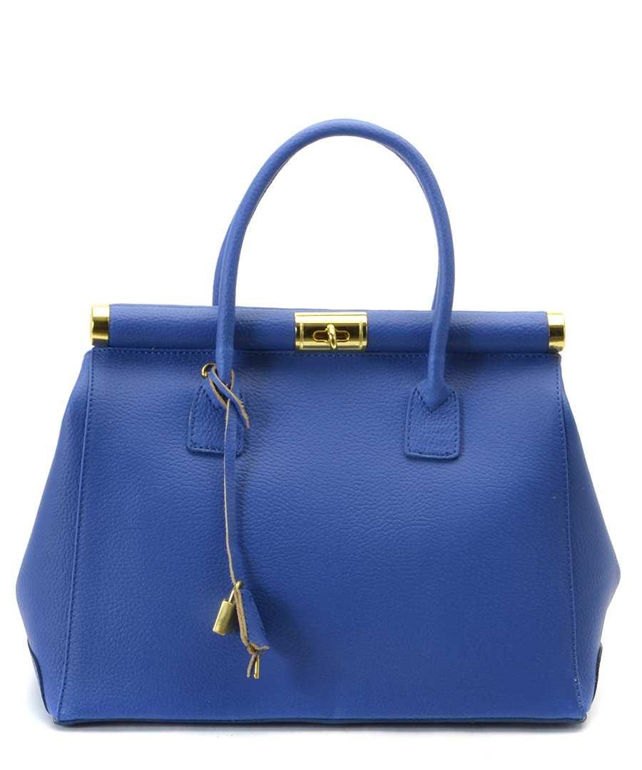 Audrey blue leather bag Sale - Bright Bags