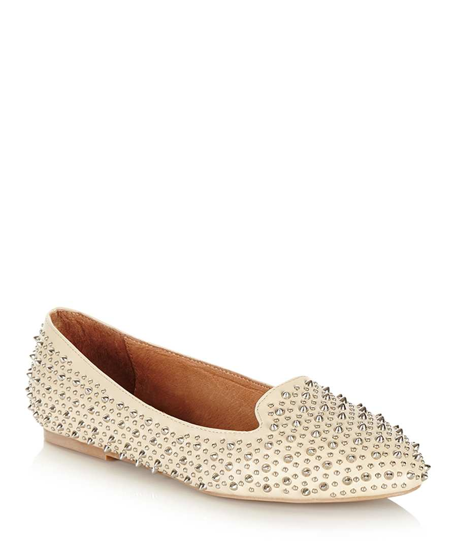 Martini beige studded flats Sale - Jeffrey Campbell