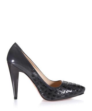 53eb623d6 Grey and black tonal leather heels Sale - Prada Sale
