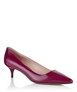 7ea469866 Bouganville pointed leather heels Sale - Prada Sale
