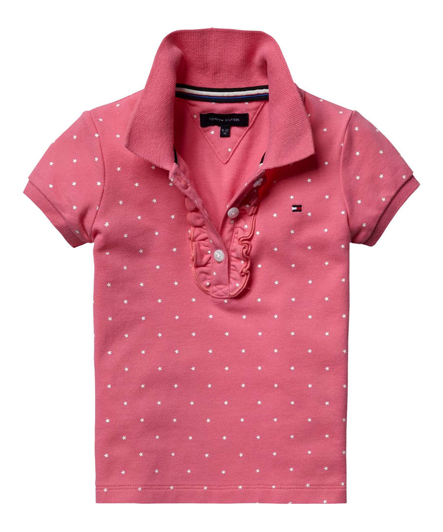 Discount toddler 39 s star pink polo shirt dress secretsales for Baby pink polo shirt