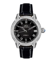 Duchess black diamond bezel watch