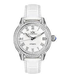 Duchess white diamond bezel watch