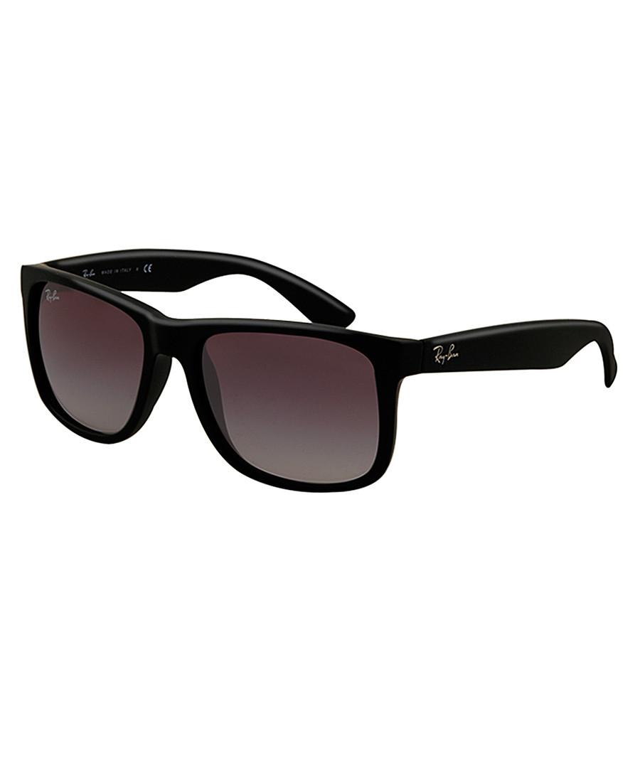 Justin matte black sunglasses Sale - RAY-BAN