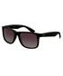 Justin matte black sunglasses Sale - RAY-BAN Sale
