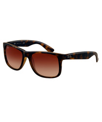 Justin matte havana brown sunglasses