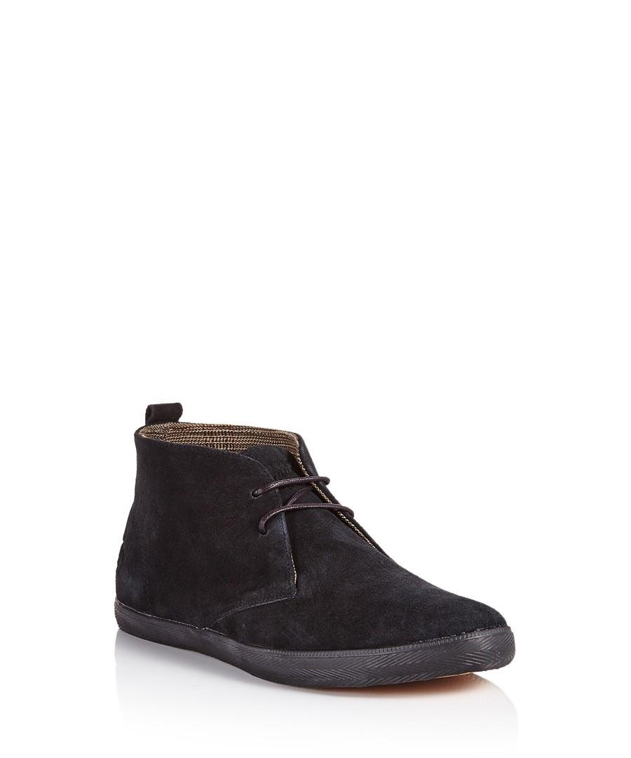 discount hopper black suede desert boots secretsales