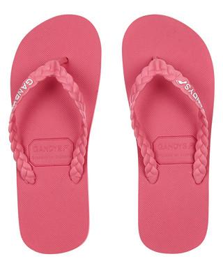 30998a9a9c50ca Gandys. Men s Phi Phi pink flip-flops