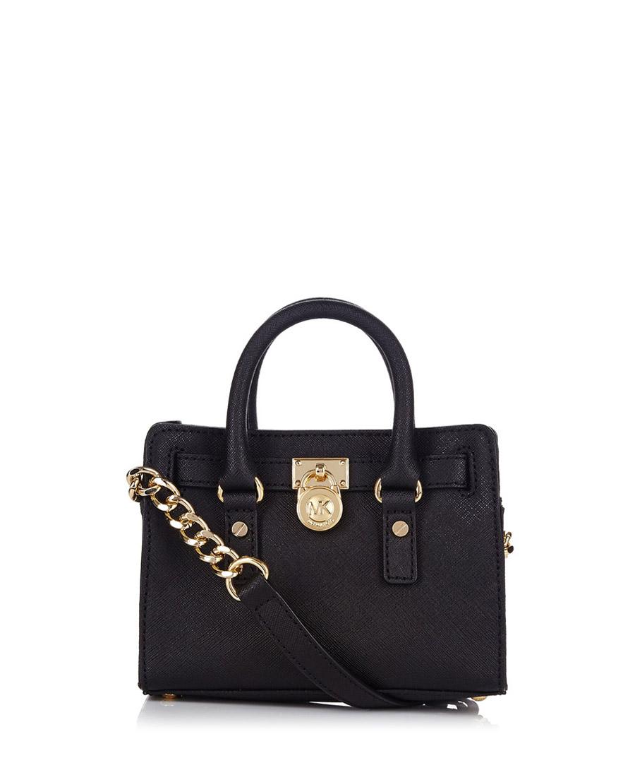 Hamilton black leather bag Sale - Michael Kors