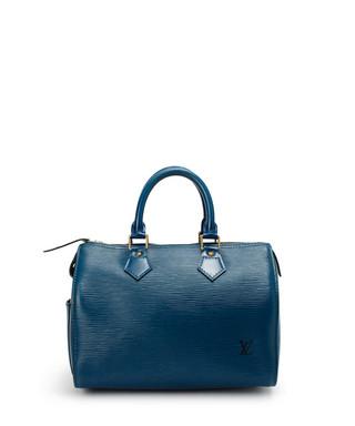 ef020a006b43 25cm Speedy blue Epi leather bag Sale - Louis Vuitton Sale