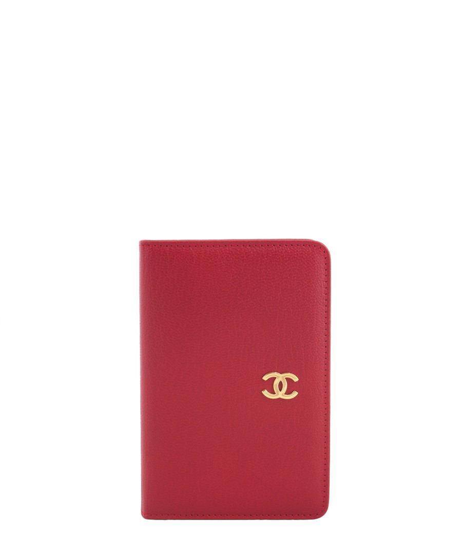 discount red leather address book cover secretsales