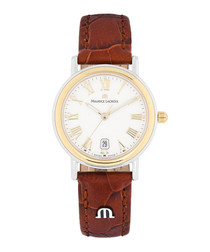 Les Classiques gold-plated watch