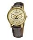 Brown moc-croc & crystal watch Sale - august steiner Sale