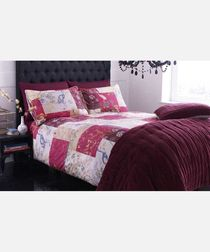 Image of Oriental patchwork cotton pillowcases
