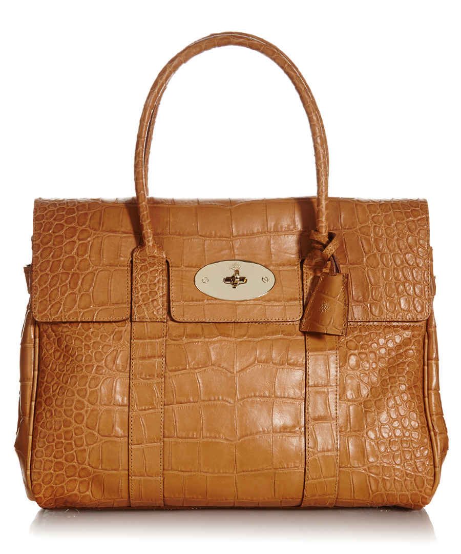 7e2e533eec ... official store bayswater biscuit brown leather handbag sale mulberry  bd9d8 f94da