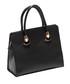 Black leather structured handbag Sale - Roberta M. Sale