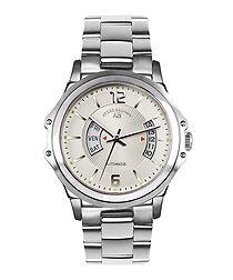 Grande Classe white dial steel watch