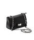 Black leather flap bag Sale - Roberta M. Sale